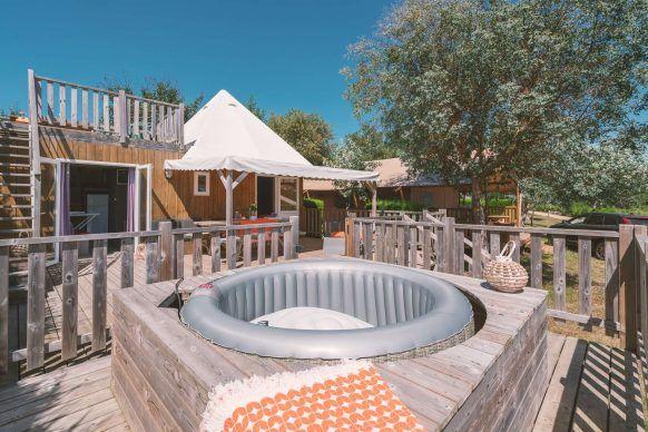 Premium spa cottage La Guyonnière
